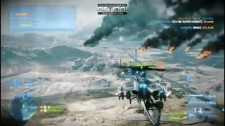 Battlefield 3 Heli Tanks and Jets Online Gameplay
