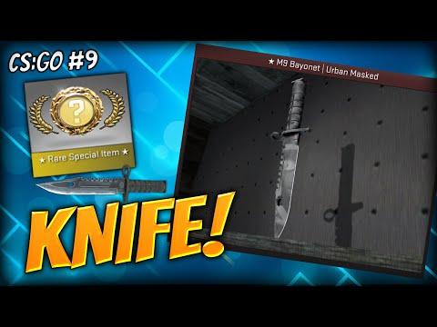 I Finally Got It - Cs:go Knife Unboxing Reaction (m9 Bayonet Urban Masked) - Cs:go Case Opening (#9) video