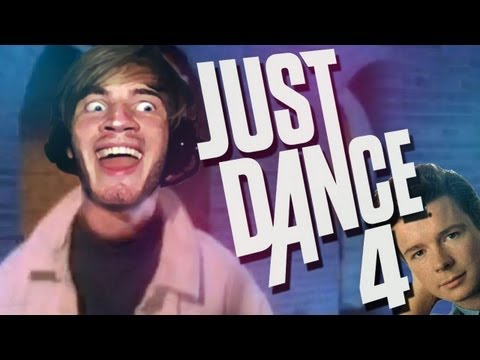 RICK ROLL DANCE! - NEVER GONNA GIVE YOU UP / CALL ME MAYBE - Part 7 - Just Dance 4 - (Xbox Kinect)