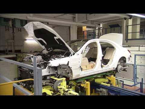 Mercedes-Benz 2014 S-Class Production Sindelfingen Plant HD