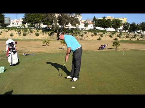 Miguel Ángel Jiménez Golf Academy - Posición y Grip en el Putt