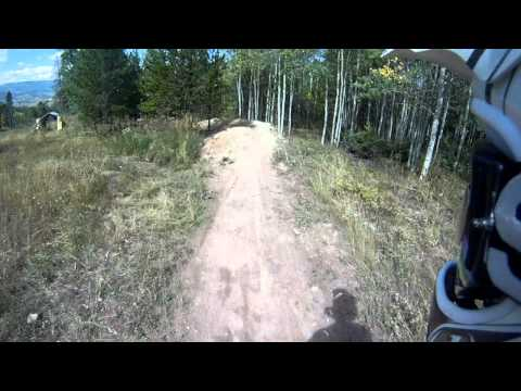 Downhill Mountain Biking at Sol Vista - Granby, Colorado - Silky Johnson Part 1