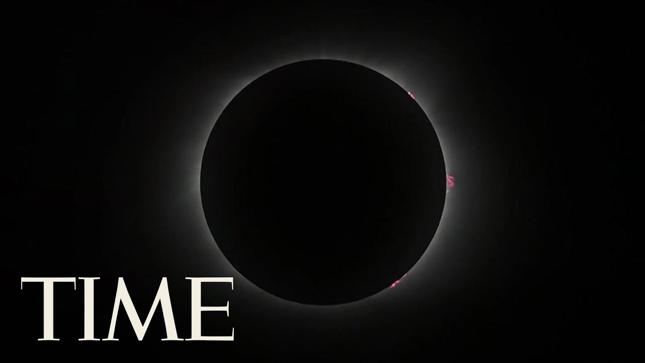 Watch The Whole Total Solar Eclipse In 4 Minutes: From Coast To Coast For The First Time | TIME