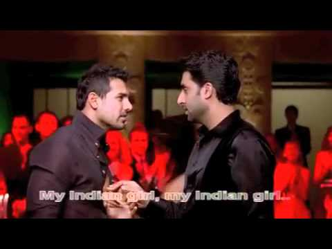 Desi Girl (hd) - Dostana - Eng Sub video