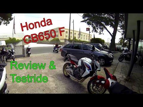 Honda CB650F Review & Testride!