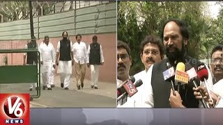 Congress Leaders RC Kuntiya And Uttam Kumar Meets Rahul Over MLAs Expulsion