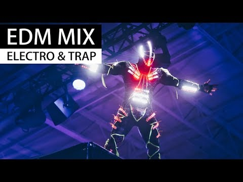NEW EDM MIX - Electro House & Trap Party Music 2018