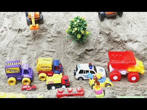 Toy Autos For Children | Excavator Dump Truck Street Roller Development Vehicles Toys for Kids