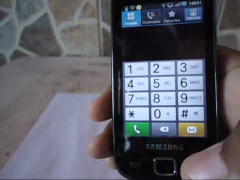 Como aumentar o som do Samsung Galaxy 551