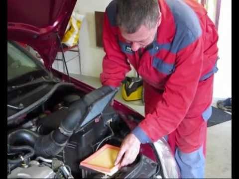 Техническое обслуживание Peugeot 206, видео!