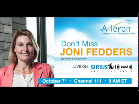 Aileron President Joni Fedders Sirius XM Business Radio Interview