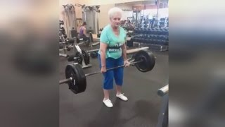 Grandma Becomes a Competitive Weightlifter at 78-Years-Old
