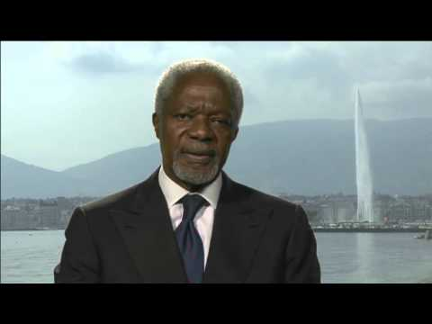 Message from Kofi Annan on Drugs in West Africa