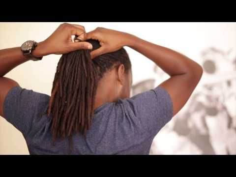 Tippy Tuesday: Three Ways to Hold Up Your Dreads   Men's Style