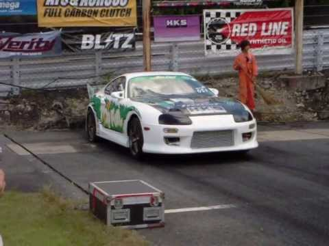 JZ80 Top Fuel Supra Burnout