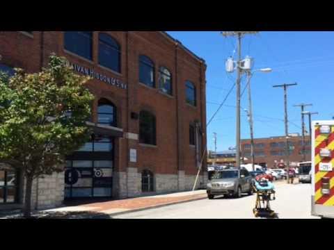 Gas leak in Crossroads District building causes evacuation