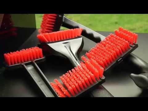 Clean your Grill using Nylon Bristle Brushes from Char-Broil