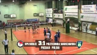 15.01.2014 KPS Siedlce - AZS Politechnika Warszawska 3:1