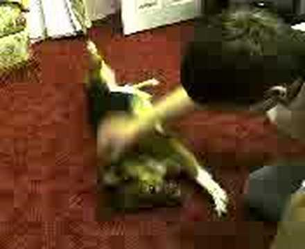 tickle the belly Video