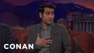 Kumail Nanjiani: 2017 Was A Global Disaster & A Personal Triumph  - CONAN on TBS