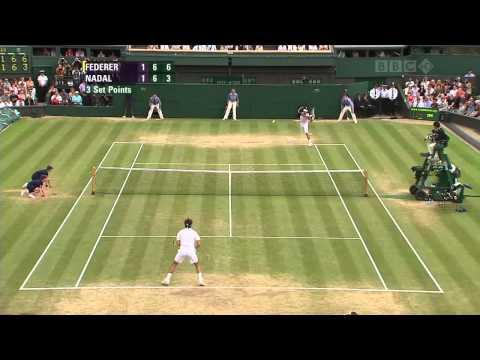 Roger Federer vs. Rafael Nadal - Finale Wimbledon 2007 - Highlights (HD)