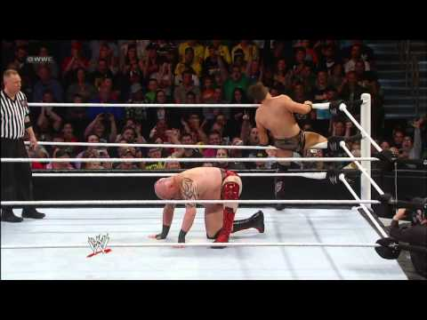 The Miz Vs. Tensai: Wwe Superstars, Jan. 11, 2013 video