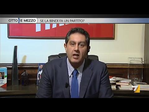 Otto e mezzo - Toti: 'Salvini goleador è solo una metafora'