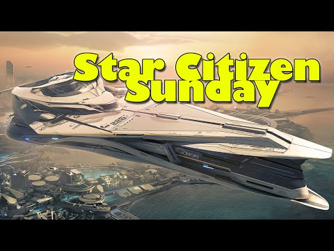 Star Citizen Sunday - EVA Interactions, Space Station Battles & Ubles More