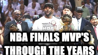 NBA FINALS MVP THROUGH THE YEARS - 2K2 - NBA 2K18