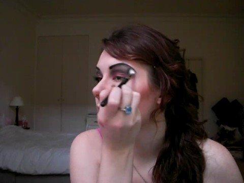 Devil Halloween Face Makeup She-devil Makeup For Halloween