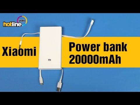 Xiaomi Mi Power bank 20000mAh – обзор внешнего аккумулятора