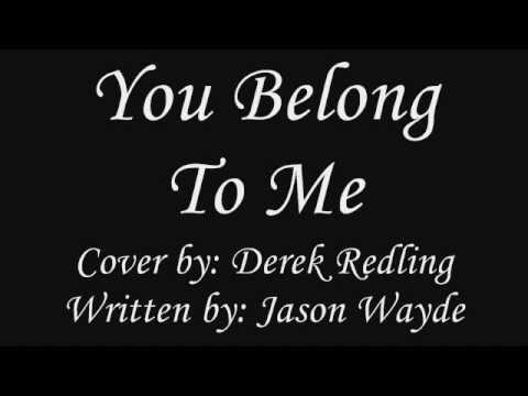 You Belong To Me - Jason Wade  With Lyrics  (cover) video