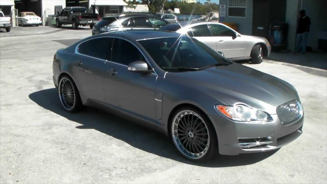 Jaguar Xf Ratings >> DUBSandTIRES.com 2011 Jaguar XF Review 22'' Custom Painted Gray Asanti AF122 Asanti Forgiato ...