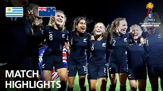 Uruguay v New Zealand  - FIFA U-17 Women's World Cup 2018™ - Group A