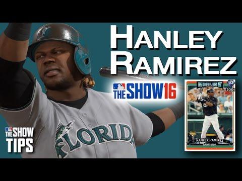 MLB The Show 16 - Flashback Review HANLEY RAMIREZ 93 OVR