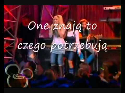 Hannah Montana - True Friend Music Video (tłumaczenie) video