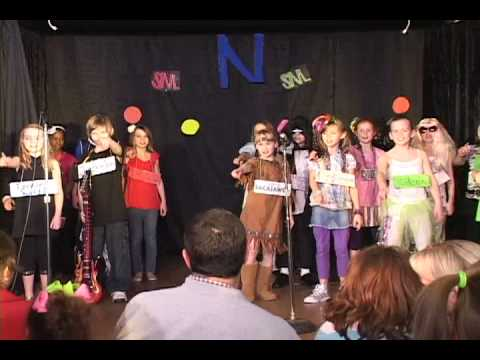 Nativity School Variety Show We are the World
