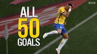 Neymar Jr ● ALL 50 GOALS FOR BRAZIL | 2010-2016 HD