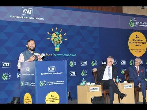 Shri Prakash Javadekar's address at the 9th Sustainable & Inclusive Solutions summit