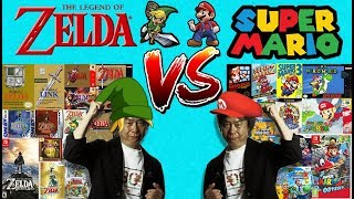 Mario VS The Legend of Zelda - Which Nintendo Franchise is Best?