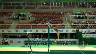 MORENO Alexa (MEX) - 2016 Olympic Test Event, Rio (BRA) - Qualifications Uneven Bars