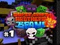 FIGHT TIME! - Minecraft: Super Craft Brothers Brawl w/Nova, Kevin, Immortal & Sly Ep.1