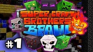 FIGHT TIME! - Minecraft: Super Craft Brothers Brawl w/Nova, Kevin, Immortal & Sly Ep.1