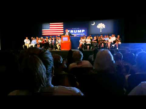 Trump Part 1 July 21, 2015, Sun City Hilton Head, SC