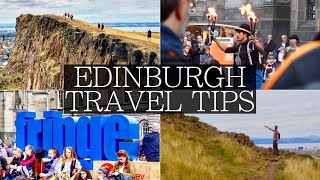 Top 8 Things to know BEFORE Visiting Edinburgh Festival | Tips