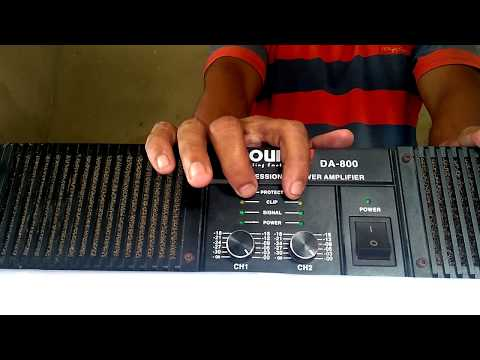 How To Use a Power Amplifier  DJ Power Amplifier Review  DJ Business  Power Amplifier # In Hindi