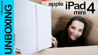 Apple iPad mini 4 unboxing en español