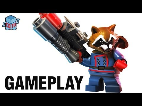 Lego Marvel Super Heroes Rocket Raccoon Lego marvel guardians of the