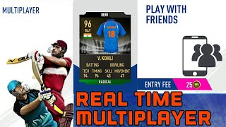 First time Real Time Multiplayer - Real Cricket 19 aNdroid IOS Update GamePlay Review Ultra Graphic