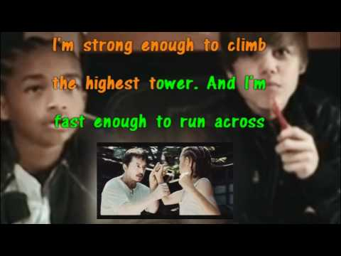 Justin Bieber Feat. Jaden Smith Never Say Never Karaoke